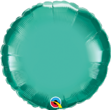 "Green Chrome Foil Balloon (18"" Round) 1pc"